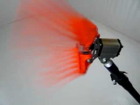 Abbacchiatore pneumatico ad aria compressa Ernesto Plus (scuotitore - scuotiolive) - YouTube