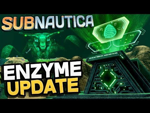 Subnautica - ENZYME UPDATE! New Sea Emperor Sounds & Prison End Game Updates! - Subnautica Gameplay