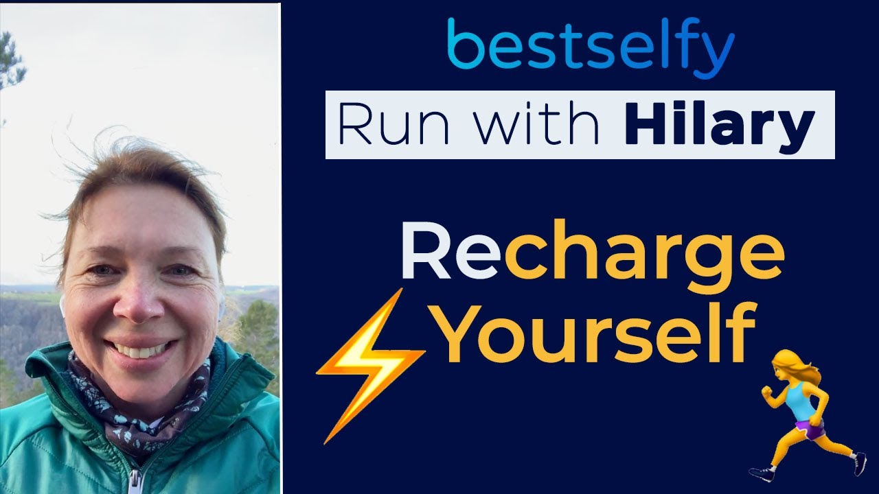 Run with Hilary (Episode #5): Recharge Yourself