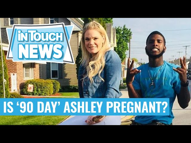 '90 Day Fiance' Star Ashley Martson Addresses Rumors She's Pregnant With Husband Jay Smith