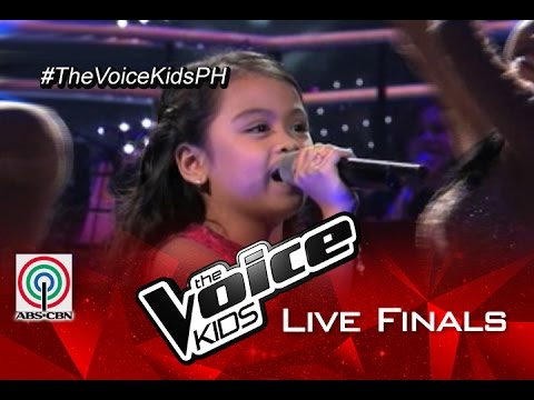 """The Voice Kids Philippines 2015 Live Finals Performance: """"Dancing Queen"""" by Esang"""