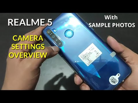 Realme 5 : Camera Settings Overview With Sample Photos