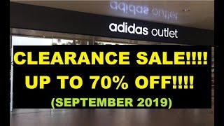 ADIDAS FACTORY OUTLET NLEX CLEARANCE