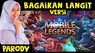 Gambar cover Potret - Bagaikan Langit Versi Hero Mobile Legends (parody)