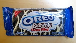 Oreo Brownie - Creme Filled