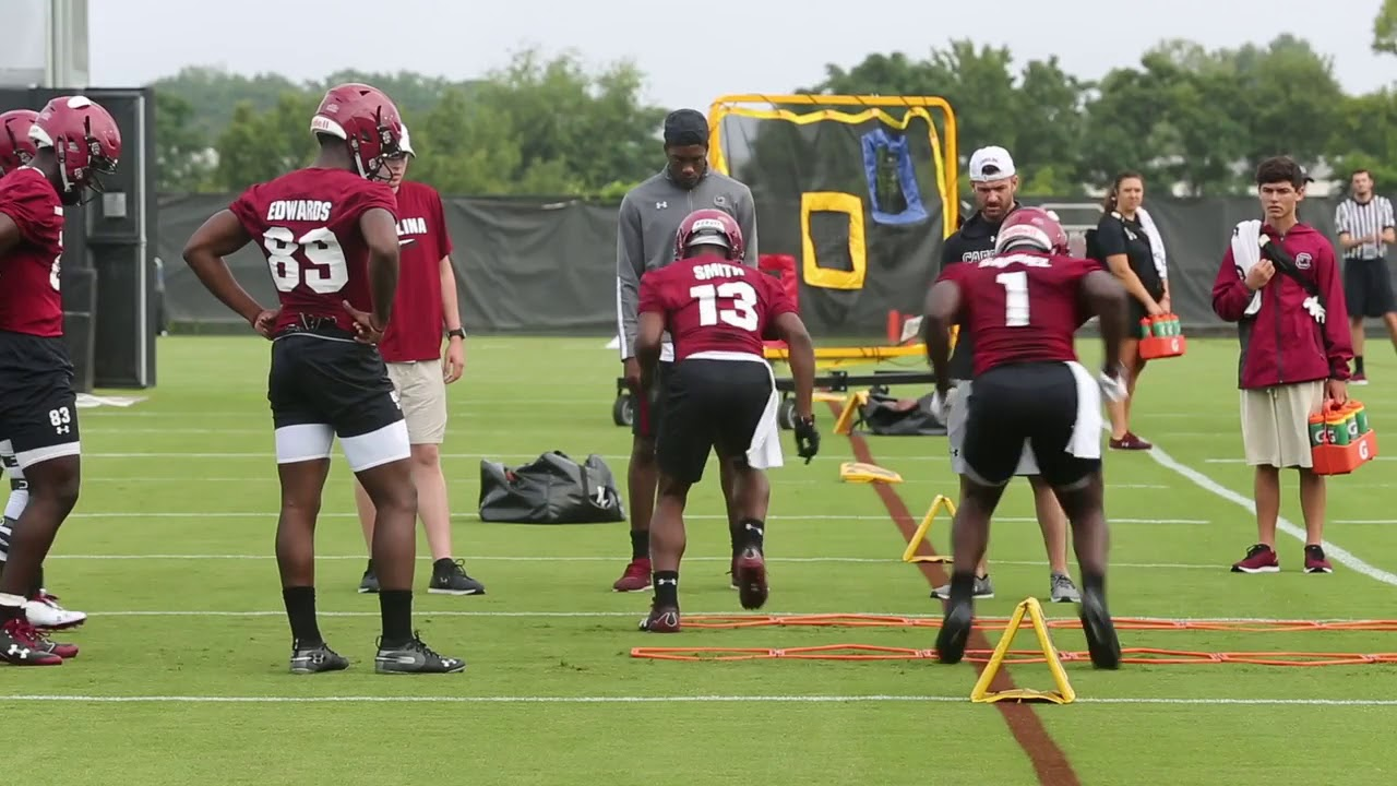 Gamecocks Had Their First Football Practice Are You Ready For The 2018 Season