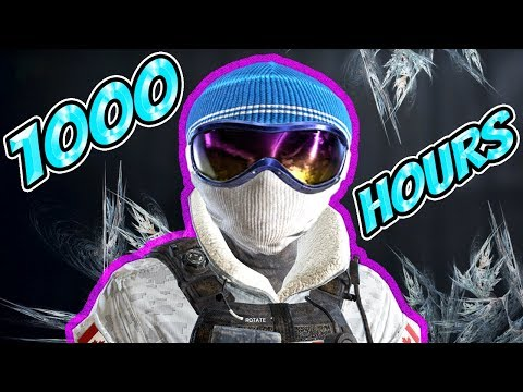 What 1000 HOURS of BUCK Experience Looks Like - Rainbow Six Siege