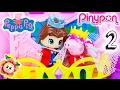 PEPPA PIG Y EL BELLO DURMIENTE PINYPON PARTE 2! ¿Vencerá Peppa a la malvada princesa? Cuento #2