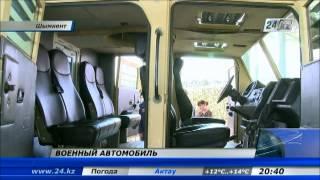 Житель Шымкента создал сверхпроходимый бронеавтомобиль
