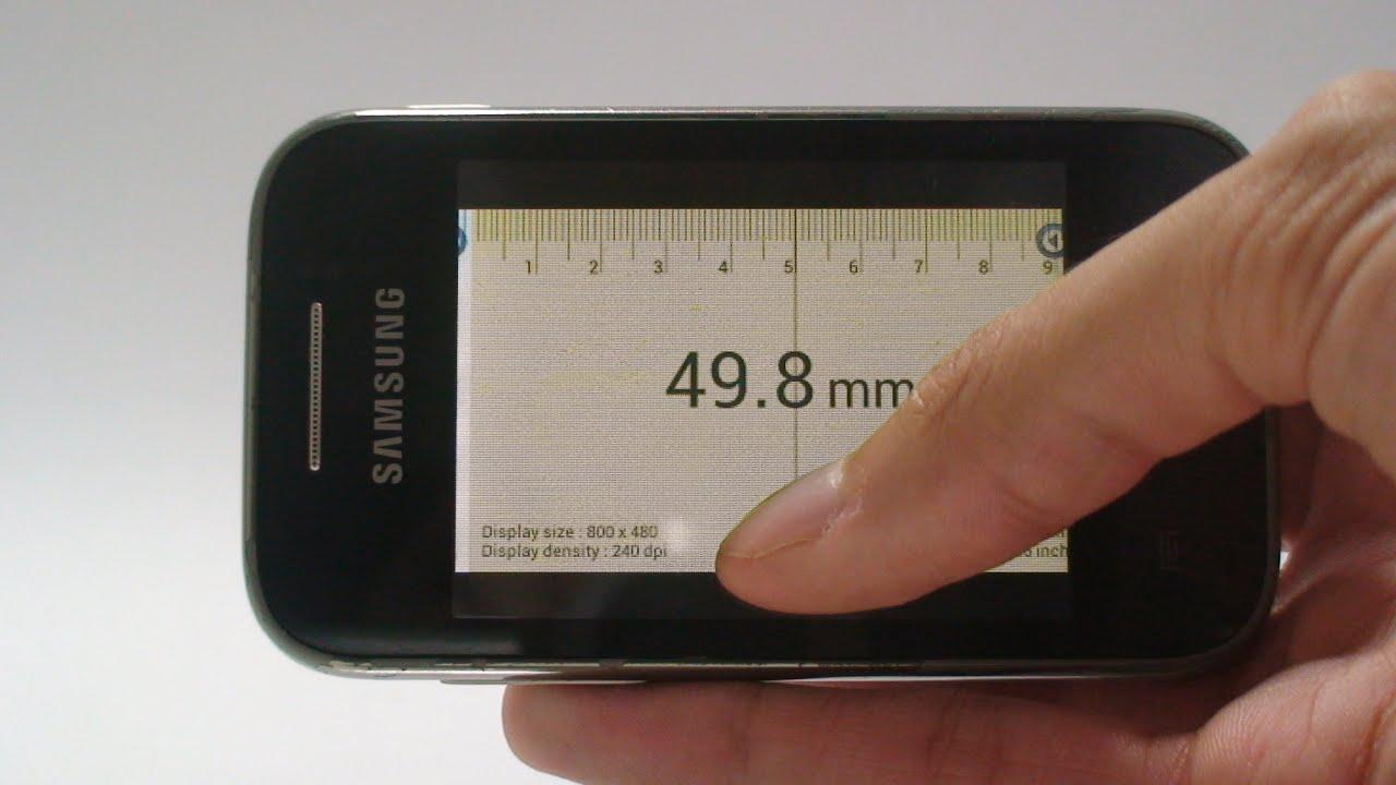 Smart Ruler (régua) Android