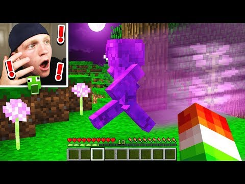 PURPLE STEVE SPOTTED IN MINECRAFT! {NOT CLICKBAIT}