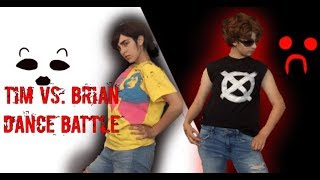 Brian vs. Tim Dance Battle (A Marble Hornets and Creepypasta Cosplay Skit)