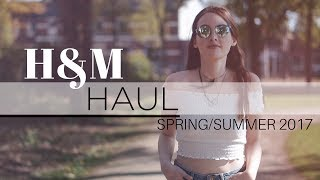 H&M haul unboxing + try-on lookbook | Spring/Summer 2017