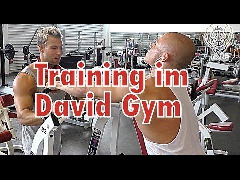 Training im David Gym, Zürich