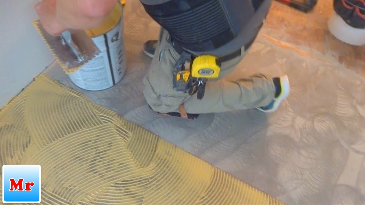 Trick How To Keep Your Glue Down Wood Floor Installation CLEAN  MrYoucandoityourself