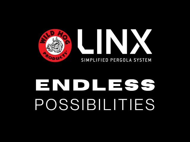 LINX Pergola-Endless Possibilities