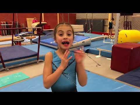 8 year old gymnasts/ instapturnsters van Bato