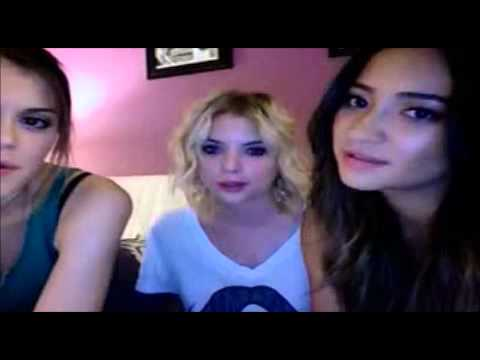 Shay Mitchell, Ashley Benson and Lindsey Shaw Live Chat Part 2 83012
