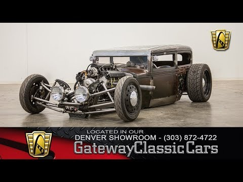 1931 Chevy Coupe Rat Rod Stock #464 - Gateway Classic Cars Of Denver