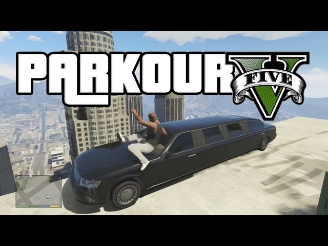 GTA parkour - YouTube