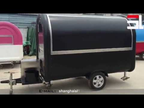 mobile food truck for sale malaysia mobile food trailer Can be customized  food trucks food cart