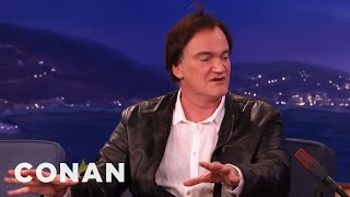 Quentin Tarantino's Post-Directing Career Plans  - CONAN on TBS