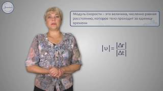 Физика 10 класс. Скорость.  Равномерное прямолинейное движение
