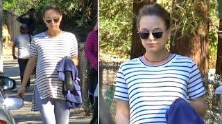 Pregnant Natalie Portman Stays Fit Hiking Morning After SAG Awards