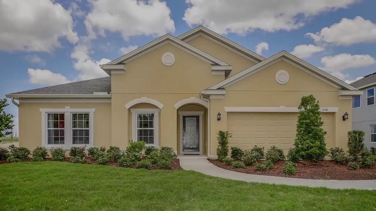 Clear Lake Landings - Amelia Model - New Homes in Apopka, FL ...