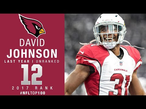 #12: David Johnson (RB, Cardinals) | Top 100 Players of 2017 | NFL