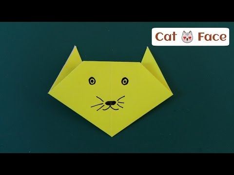 Origami Cat Face   360x480