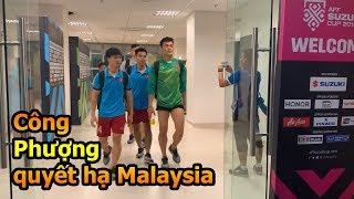 Thử Thách Bóng Đá đi xem Phan Văn Đức , Công Phượng , Quang Hải ĐT Việt Nam VS Malaysia AFF CUP 2018
