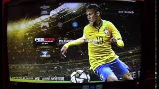 PS3 test 2, PES2016