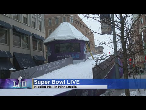 Super Bowl Events Begin Taking Over Minneapolis