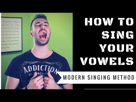 Vocal Tip To Sing Vowels Naturally! - How To Sing Your Vowels Correctly