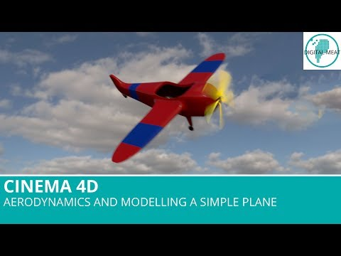 Cinema 4D: Aerodynamics And Modelling a Simple Plane