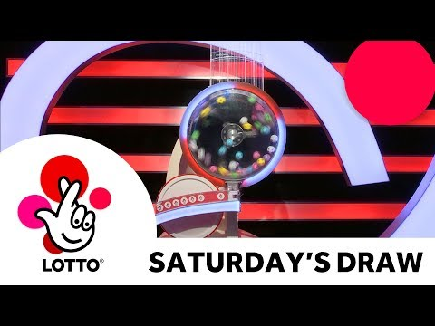 The National Lottery 'Lotto' draw results from Saturday 21st December 2019
