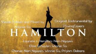 Hamilton - Satisfied Karaoke (with backing vocals) Sing with me / You Sing Angelica | Winnie Su