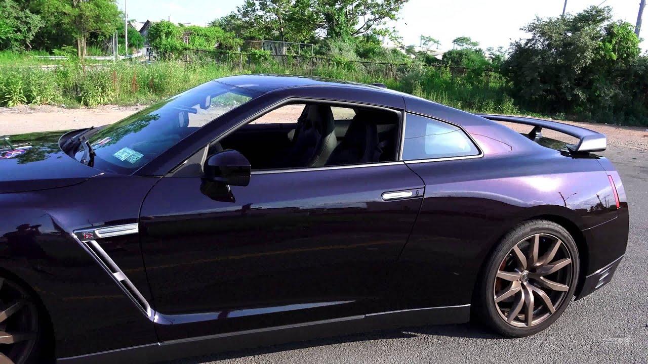 2014 Midnight Opal Nissan Gt R 1 Of 100 Made Walkaround
