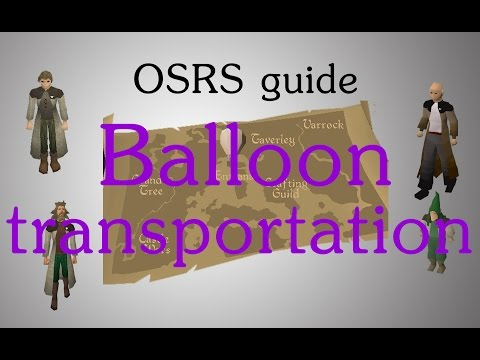 [OSRS] Hot air balloon transportation guide