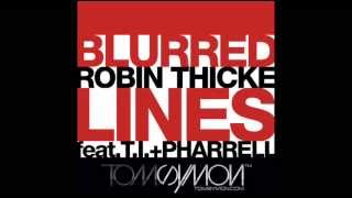 Robin Thicke ft.T.I.& Pharrell - Blurred Lines (Tom Symon Remix)