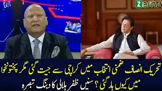 Zafar Hilaly Response On Pti Winning By election In Karachi And Losing In Kpk