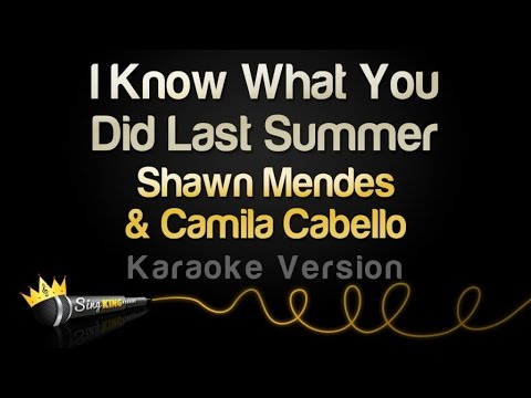 Shawn Mendes & Camila Cabello - I Know What You Did Last Summer (Karaoke Version)