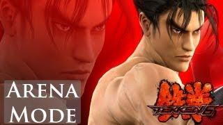 Tekken 6 - Arena Mode - Jin Kazama