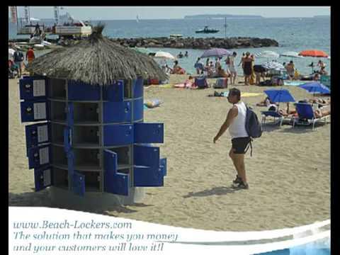 Beach Lockers
