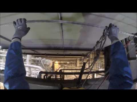 Rope Access Asbestos Surveying