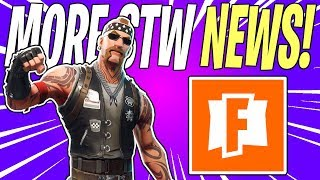 STW Constructor Skins, Secret Steel Wool Song, & Boombox Launcher! | Fortnite Save The World News