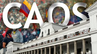 Ecuador a punto de caer: Caos Nacional