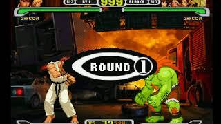Capcom vs. SNK Pro Longplay (PlayStation) [60 FPS]