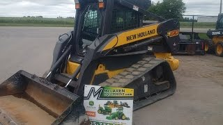New Holland C190 Track Loader